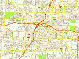 Flamingo Las Vegas Map by Las Vegas Maps Us Maps Of Las Vegas Strip Reference Map Of New