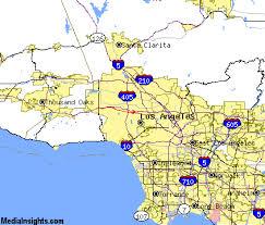 studio city map sherman oaks california map california map