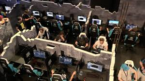 pubg tournament giant arenas capture the beautiful chaos of 100 player