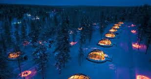 Glass Igloo Village With Unreal Views Of The Northern Lights