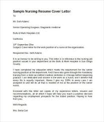 best nursing cover letter nursing cover letter samples resume