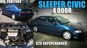 supercharged subaru wrx k20 supercharged sleeper civic turbo and stance
