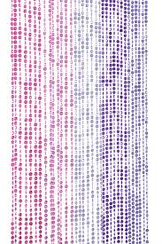 Pink And Purple Curtains 8 Foot Purple Pink Beaded Curtain Cut That Bohemian