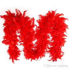 turkey feather boa chandelle feather boa wrap burlesque can can saloon costume