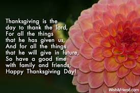 thanksgiving is the day to thank thanksgiving wish