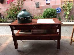 large green egg table big green egg table