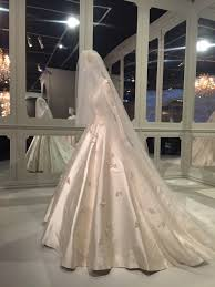 wedding dress miranda kerr 70 years of haute couture fashion fairytale at ngv the