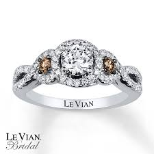 le vian engagement ring 1 ct tw diamonds 14k vanilla gold - Levian Wedding Rings