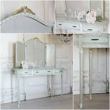 one of a kind vintage vanity tri fold mirror