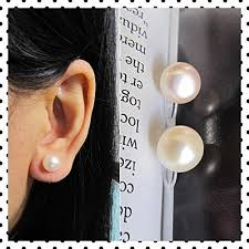 how to make clip on earrings comfortable 8mm freshwater pearl invisible clip on stud earrings