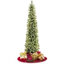 slim pre lit tree decor