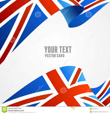 vector flag of uk border stock vector image 40803673