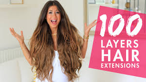 extension hair 100 layers of hair extensions luxy hair
