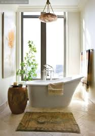 Zen Bathroom Ideas by Zen Bathroom Decoration Ideas With Houseplants And Wall Art And