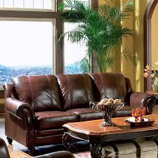 Coaster Leather Sofa Shop Coaster Furniture Princeton Brown Leather Sofa At