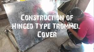 homemade gold trommel design design fabrication of trommel with impact mill rock crusher youtube