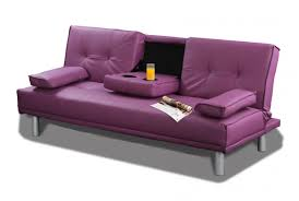 Purple Sofa Bed Purple Manhattan Modern Pu Leather Sofa Bed My Purple Heaven
