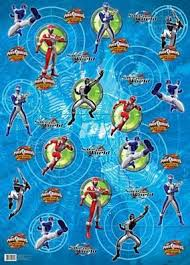 power rangers roll wrap 4m x 70cm wrapping paper co uk