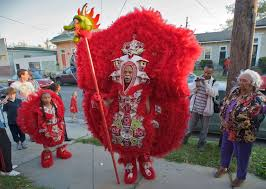 mardi gras suits mardi gras indians new orleans meet to avoid conflicts on