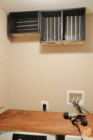Shelf Ideas For Laundry Room - laundry room makeover that u0027s easy and inexpensive the home depot