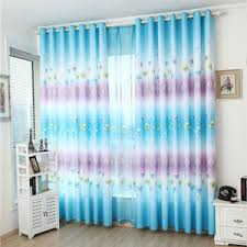 Blue And White Floral Curtains Vintage Floral Curtains Blue Pink Yellow Black Green