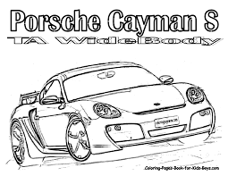 coloring pictures of cars