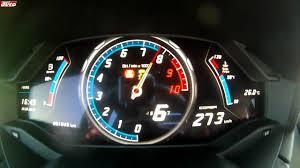 lamborghini huracan speedometer 0 320 km h lamborghini huracán test sport auto youtube