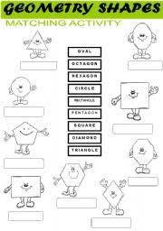 shape recognition worksheet teaching worksheets shapes