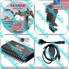 usa seller yamaha yds diagnostic cable set for outboard