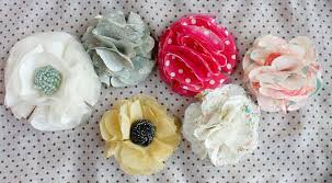 Fabric Flowers Ruffles And Stuff No Sew Fabric Flower Tutorial