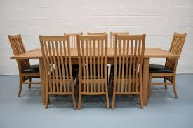 Oak Extending Dining Table And 8 Chairs Lichfield Extending Dining Tables 8 Seater Oak Dining Table Set