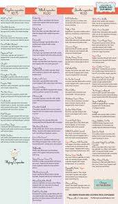 best 25 bakery menu ideas on pinterest cupcake flavors sweet