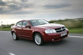 dodge avenger saloon review 2007 2009 parkers
