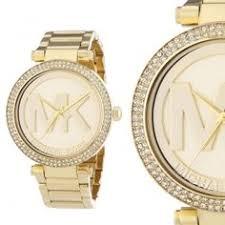 designer uhren damen michael kors mk5756 strass gold edelstahl damenuhr armbanduhr neu