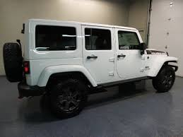 white jeep rubicon 2018 jeep wrangler jk unlimited rubicon recon 4x4 suv for sale in