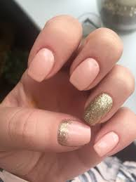 jessica geleration peaches and crème with gold loose glitter