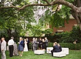 innovative wedding in the garden garden wedding lee fendall house