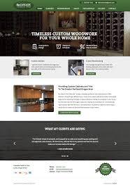 Business Web Design Homepage by Carpenter Website Design U2022 Portfolio U2022 Cemah Creative Llc