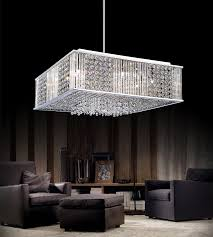 Square Chandelier Brizzo Lighting Stores 16 Cristallo Modern Square