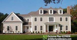 colonial house plan regal colonial house plan 42298db architectural designs house
