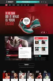 webseiten design programm 57 best sports websites images on website template