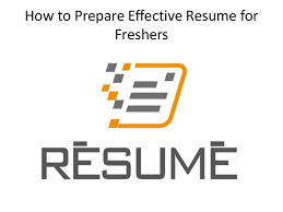 Prepare Resume Howtoprepareeffectiveresumeforfreshers 150905111319 Lva1 App6891 Thumbnail 4 Jpg Cb U003d1441451631