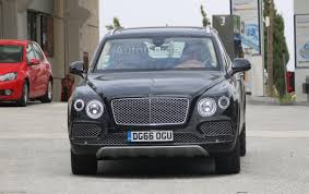 bentayga bentley spy shots signal arrival of bentley bentayga hybrid autoguide