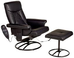 black leather reading chair with back and arms complete with