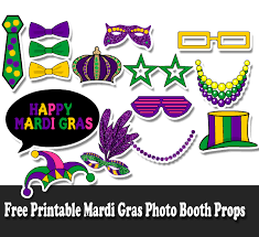 mardi gras photo booth free printable mardi gras photo booth props jpg
