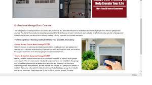 Parts Of Garage Door by Ripoff Report Garage Door Training Institute Complaint Review El
