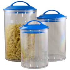 Kitchen Canisters Function And Beauty - blue kitchen canisters u0026 jars you u0027ll love wayfair