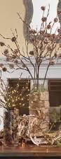 Raz 2013 Forest Friends Decora - 30 rustic christmas decoration ideas branch centerpieces pine