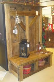bench hall coat tree bench corner hall tree coat rack mirror