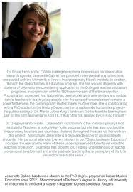 martin luther king dissertation graduate student appreciation ppt download dr bruce fehn wrote while making exceptional progress on her dissertation research agenda